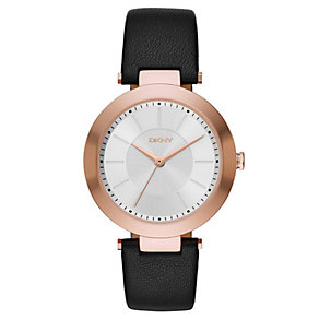 DKNY Ladies' Rose Gold Tone Strap Watch - Product number 4355423