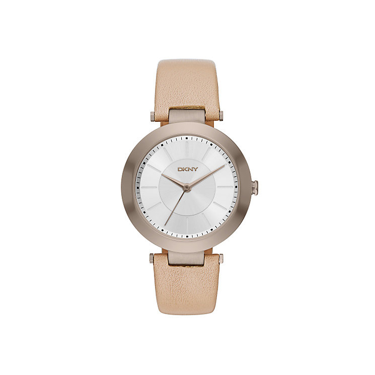 Dkny Ladies' Rose Gold Tone Strap Watch - Product number 4355431