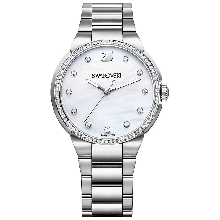 Swarovski City Stainless Steel Crystal Watch - Product number 4358317