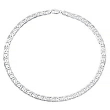 "Sterling Silver Flat 22"" Chain - Product number 4358392"
