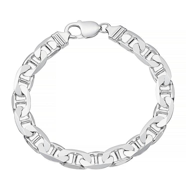 Sterling Silver Flat Bracelet - Product number 4358406