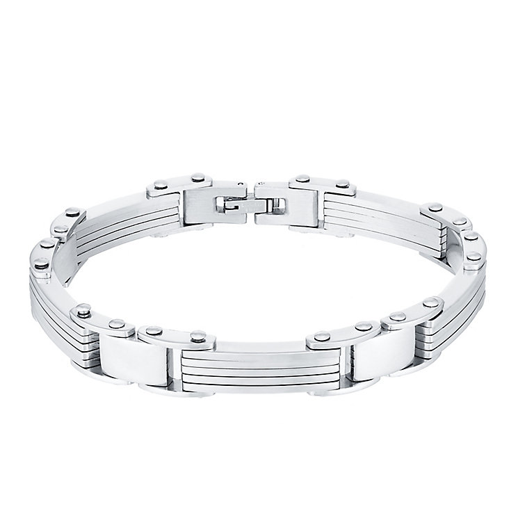Stainless Steel Link Bracelet - Product number 4358457
