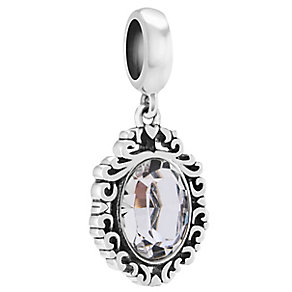 Chamilia Sterling Silver Swarovski Looking Glass Charm Bead - Product number 4361172