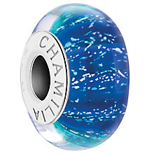 Chamilia Deep Sea Dive Sterling Silver & Murano Glass Bead - Product number 4364562