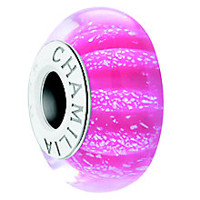 Chamilia Rose Water Sterling Silver & Murano Glass Bead - Product number 4364848