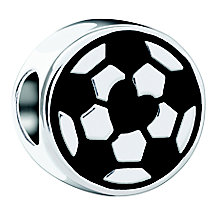 Chamilia Kick It Sterling Silver Football Charm Bead - Product number 4365054