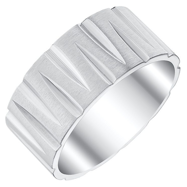 Titanium Patterned Ring - Product number 4365992