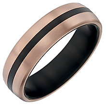 Titanium Striped Ring - Product number 4366387