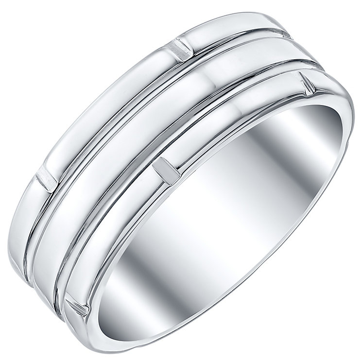Tungsten Striped Ring - Product number 4367340