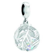 Chamilia Hidden Gems Silver Vines Swarovski Charm Bead - Product number 4369610