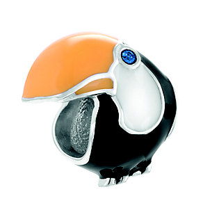 Chamilia Toucan Tango Sterling Silver & Enamel Bead - Product number 4370945