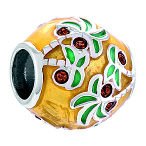 Chamilia Palm Trees & Sunshine Sterling Silver & Enamel Bead - Product number 4371631