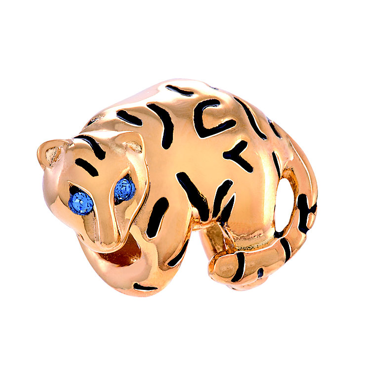 Chamilia Tiger Stripes Sterling Silver & Gold-Plated Bead - Product number 4372301