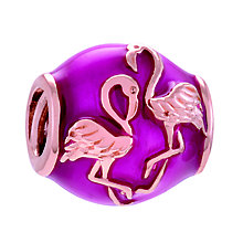 Chamilia Pink Flamingo Sterling Silver & Pink Enamel Bead - Product number 4373707