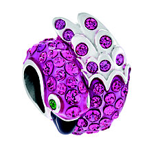 Chamilia Pave Pink Flamingo Sterling Silver Swarovski Bead - Product number 4373715