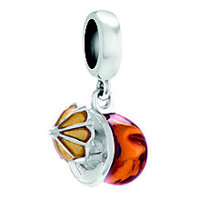 Chamilia Coco Loco Sterling Silver & Enamel Charm Bead - Product number 4373758