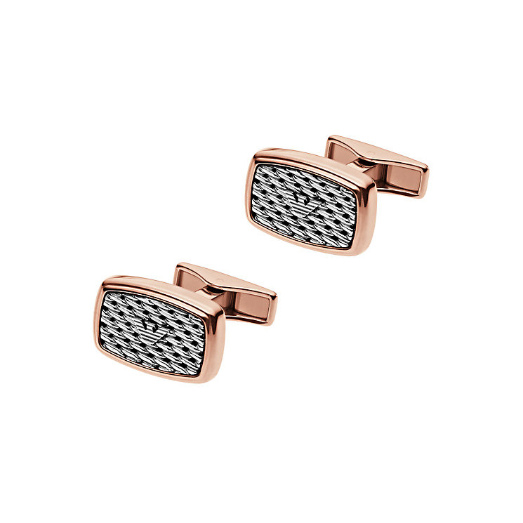 Emporio Armani Two Colour Cufflinks - Product number 4378466