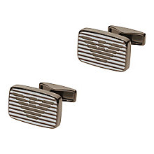 Emporio Armani Signature Stainless Steel Cufflinks - Product number 4378733