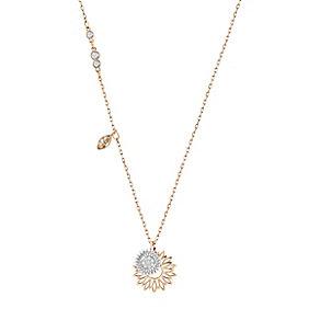 Swarovski Sunflower Rose Gold Plated Pendant - Product number 4378830