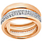 Swarovski Exact Rose Gold Plated Ring Size L - Product number 4379160