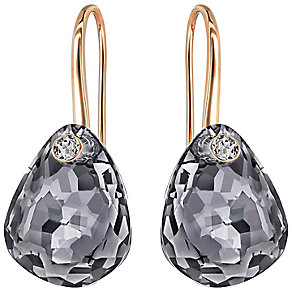 Swarovski Parallele Rose Gold Plated Crystal Earrings - Product number 4379217