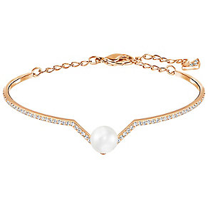 Swarovski Edify Rose Gold Plated Bracelet - Product number 4379241