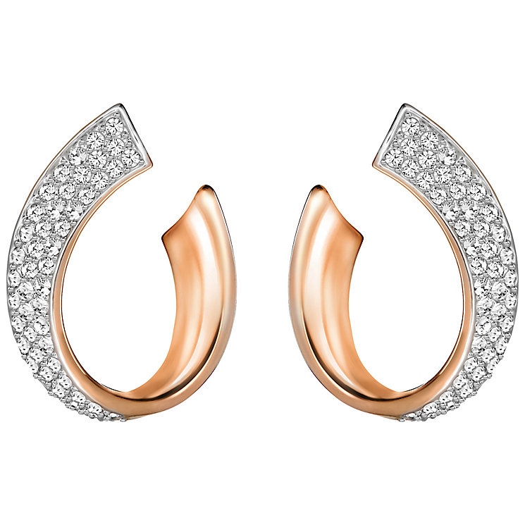 Swarovski Rose Gold Plated Exist Earrings - Product number 4379950