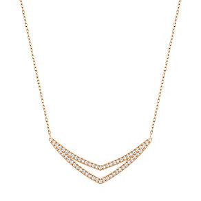 Swarovski Alpha Rose Gold Plated Necklace - Product number 4380231