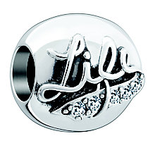Chamilia Silver Swarovski 'Life Is A Team Sport' Bead - Product number 4380967