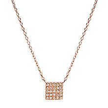 Fossil Rose Gold Tone Necklace - Product number 4380975