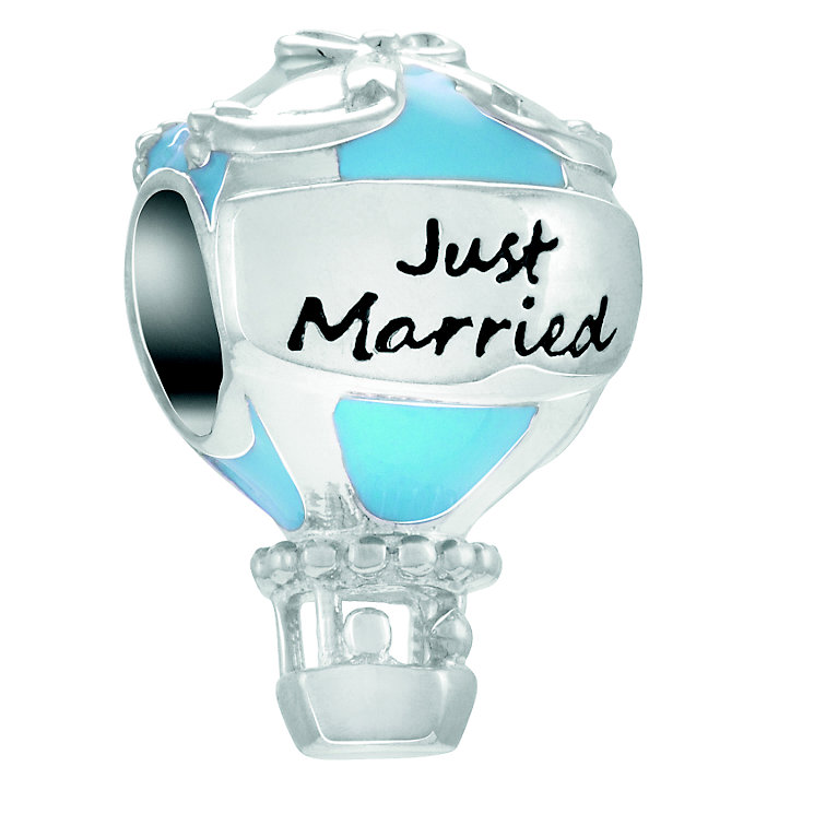 Chamilia Love Floats Just Married Silver & Enamel Bead - Product number 4381211