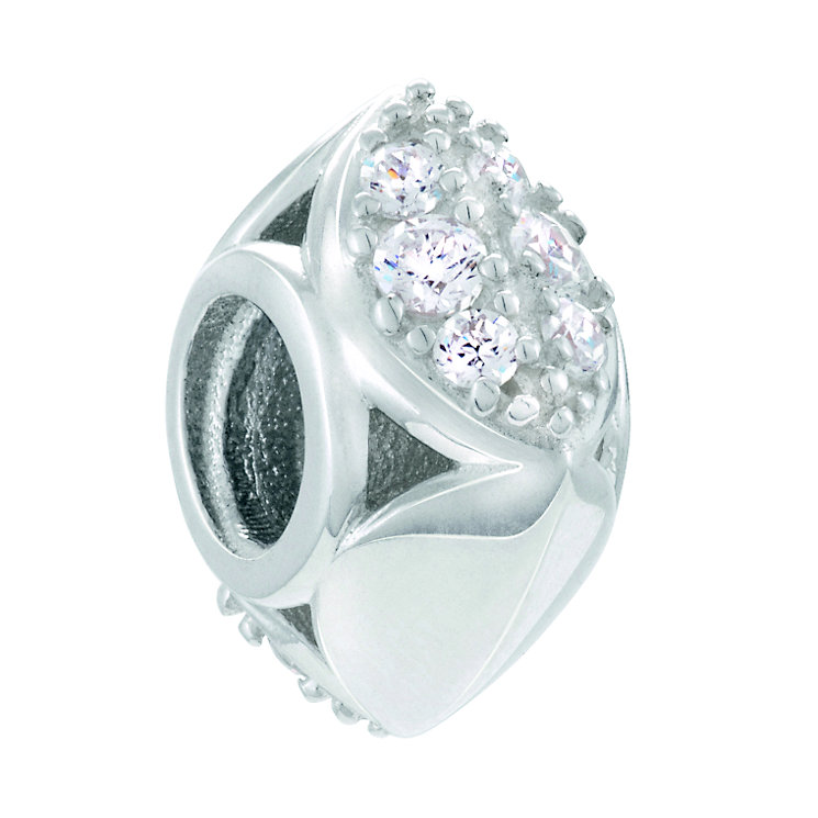 Chamilia Facets Of Love Sterling Silver Cubic Zirconia Bead - Product number 4381246