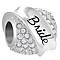 Chamilia Sterling Silver Swarovski Bride Banner Bead - Product number 4381289