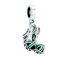 Chamilia On A Pedestal Sterling Silver & Enamel Charm Bead - Product number 4381335