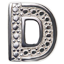 Chamilia Keepsake Locket Memory Charm Letter D - Product number 4381785
