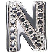 Chamilia Keepsake Locket Memory Charm Letter N - Product number 4382153