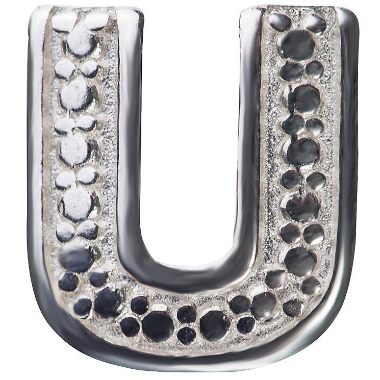 Chamilia Locket Memory Charm Letter U - Product number 4382277