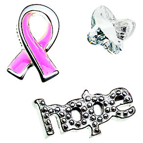 Chamilia Memory Locket Breast Cancer Awareness Charms - Product number 4382773