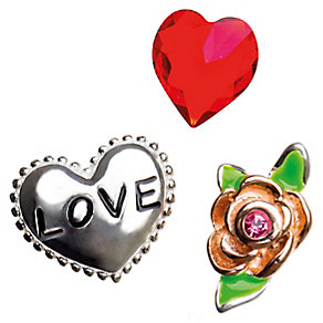 Chamilia Memory Love and Rose Locket Charms - Product number 4382803