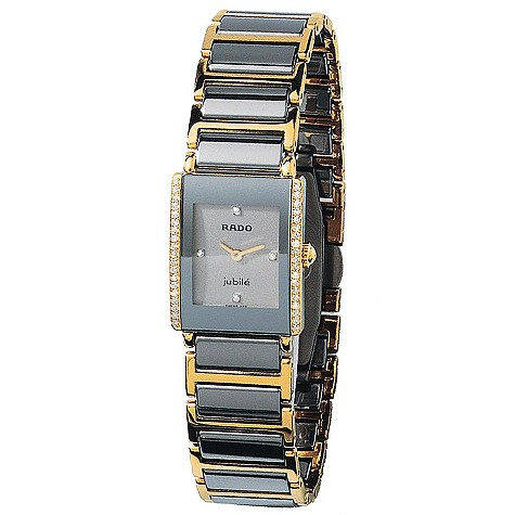 Rado Jubile ladies' ceramic two-colour bracelet watch