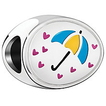Chamilia Showered With Love Sterling Silver & Enamel Bead - Product number 4383214