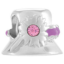 Chamilia Sterling Silver Garden Party Pink Swarovski Set Hat - Product number 4383370