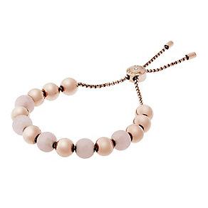 Michael Kors Rose Gold Tone Rose Quartz Bracelet - Product number 4384490