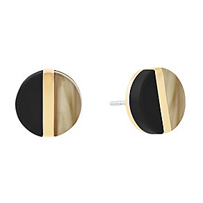 Michael Kors Colour Block Gold Tone Earrings - Product number 4384989