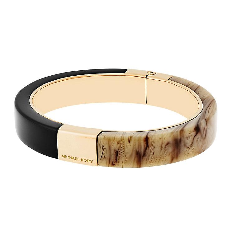 Michael Kors Colour Block Gold Tone bangle - Product number 4385020