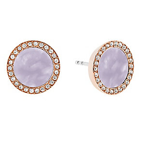 Micheal Kors Rose Gold Tone Stud Earrings - Product number 4385039