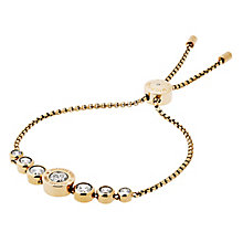 Michael Kors Logo Gold Tone Crystal Bracelet - Product number 4385128