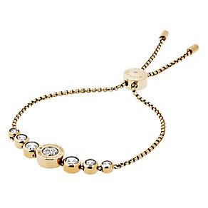 Michael Kors Logo Gold Tone Crystal Bracelet - Product number 4385128