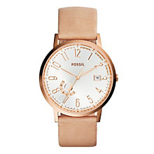 Fossil Vintage Muse Ladies' Rose Gold Tone Strap Watch - Product number 4385306