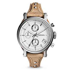 Fossil Original Boyfriend Ladies' Rose Gold Tone Strap Watch - Product number 4401727